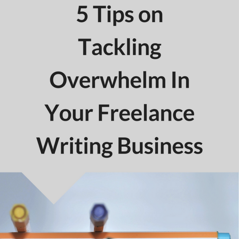 overwhelm in freelance